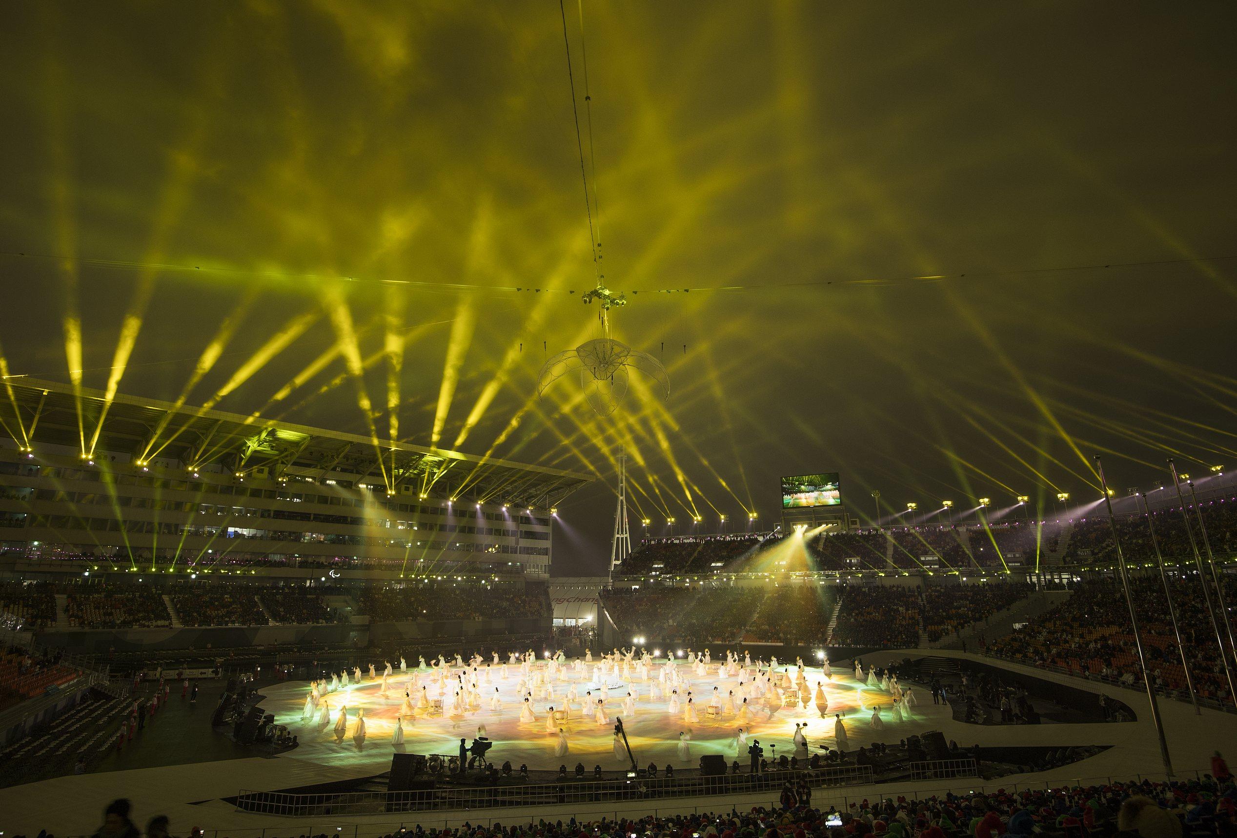 Inaguracion Paralimpiada Pyeongchang 2018 019