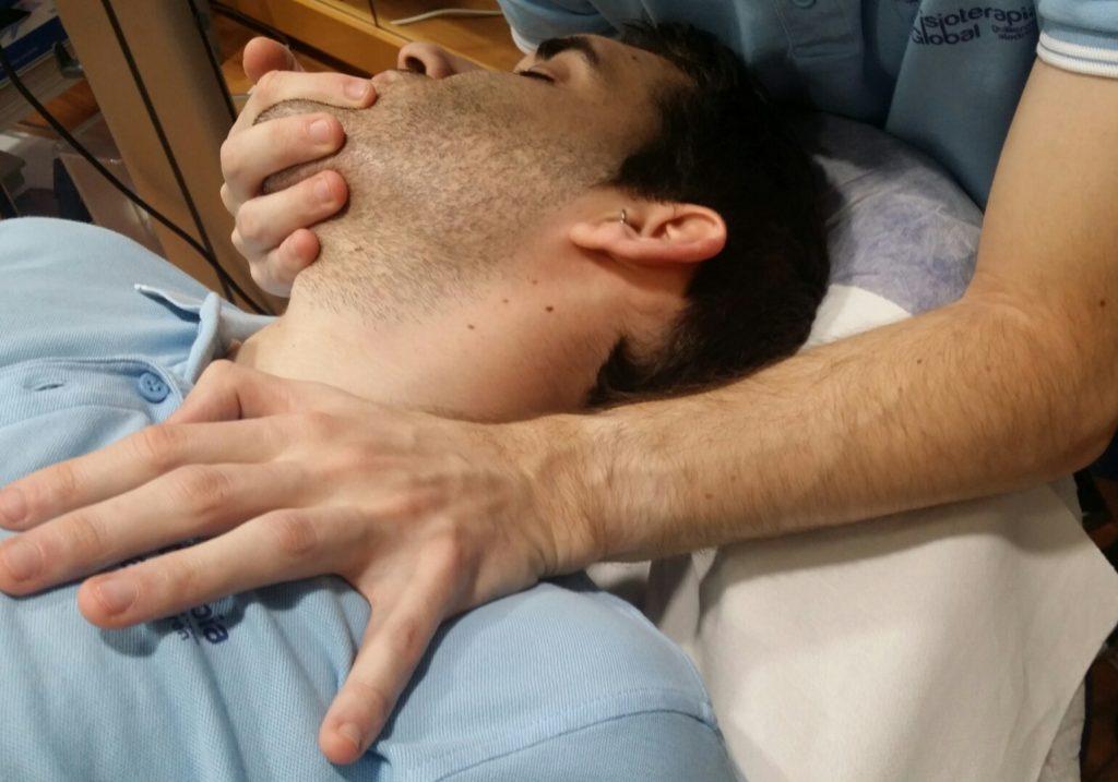 Terapia miofascial en el centro Fisioterapia Global