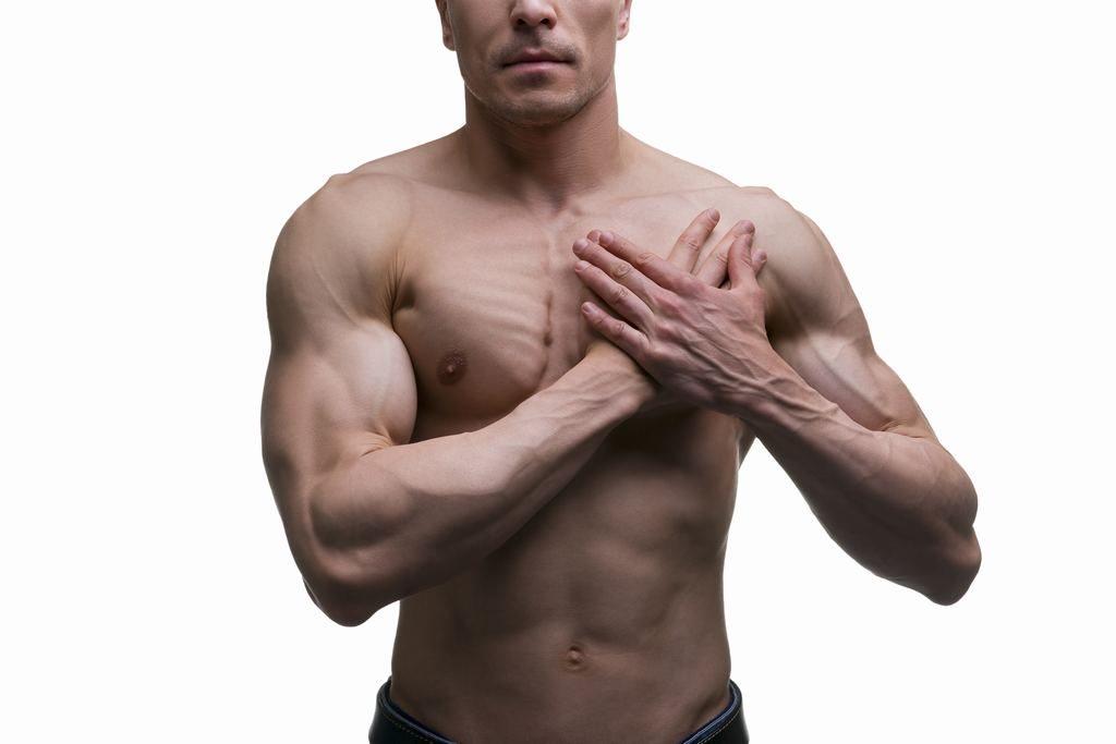 Rotura muscular pectoral